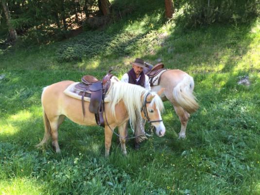 Mit Horseman Fausto unterwegs