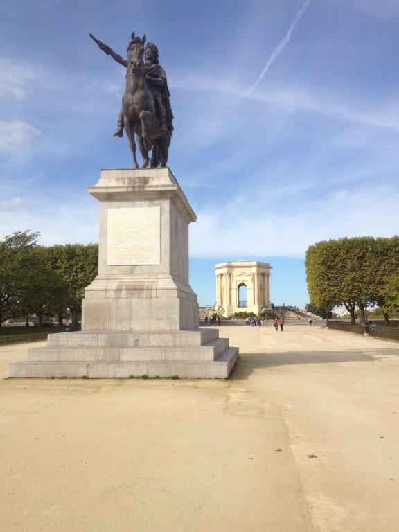 place royale du Peyrou Montpellier