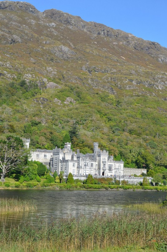 Die Kylemore Abbey Connemara