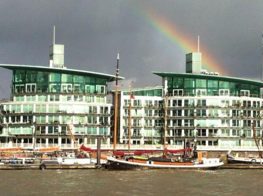Luxuswohnen an der Themse