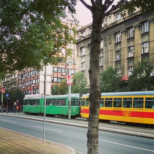 Basler Drämmli in Belgrad
