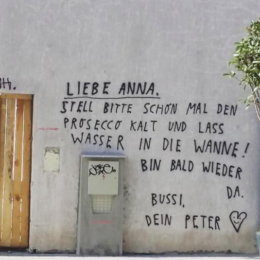Peters Liebeserklärung