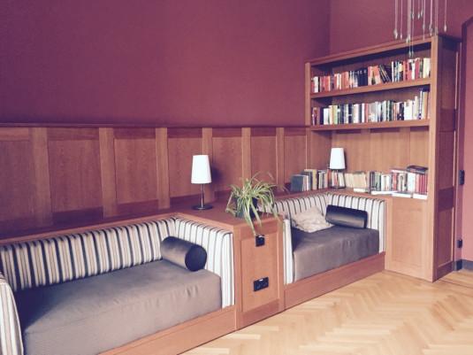 Bibliothek zum Schmökern
