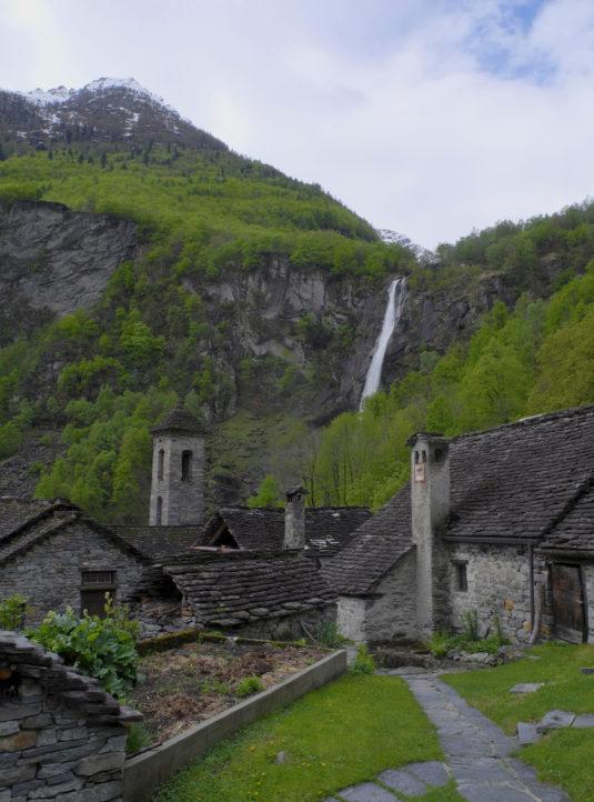 Das ist Foroglio im Val Bavona