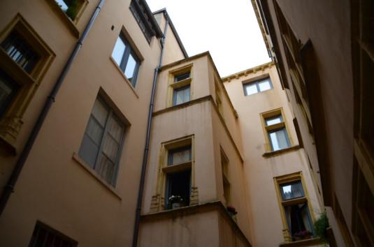 Lyon_In einer der geheimen Miraboules