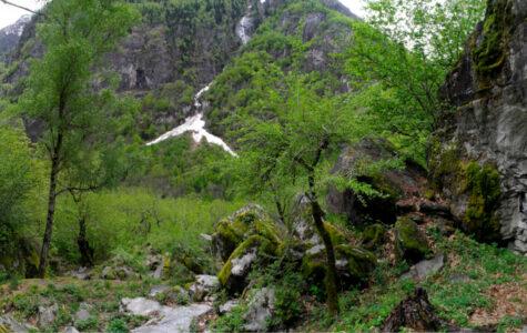 Der schönste Wasserfall der Schweiz