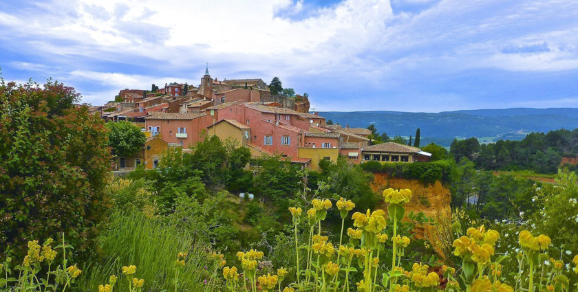 Drei schönste Dörfer in der Provence
