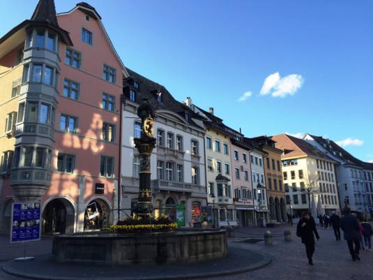 Die Altstadt von Schaffhausen ist ganz schön