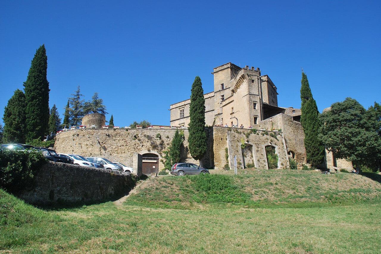 Die Festung in Lourmarin