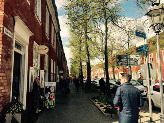 Malerisches holländisches Viertel