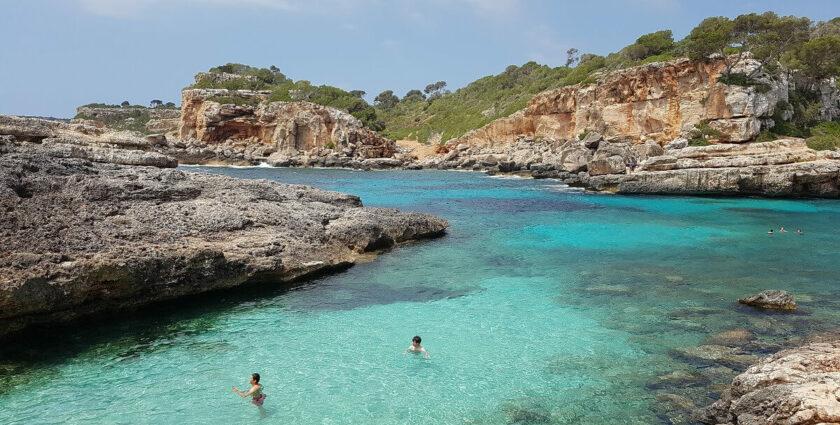 Vier Traumstrände im Süden Mallorcas