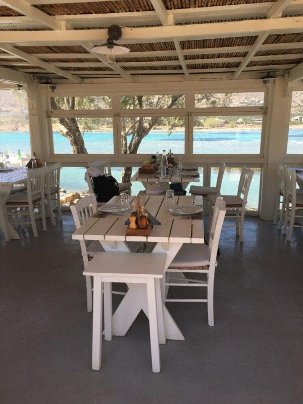Kanali Griechenland Taverne Essen