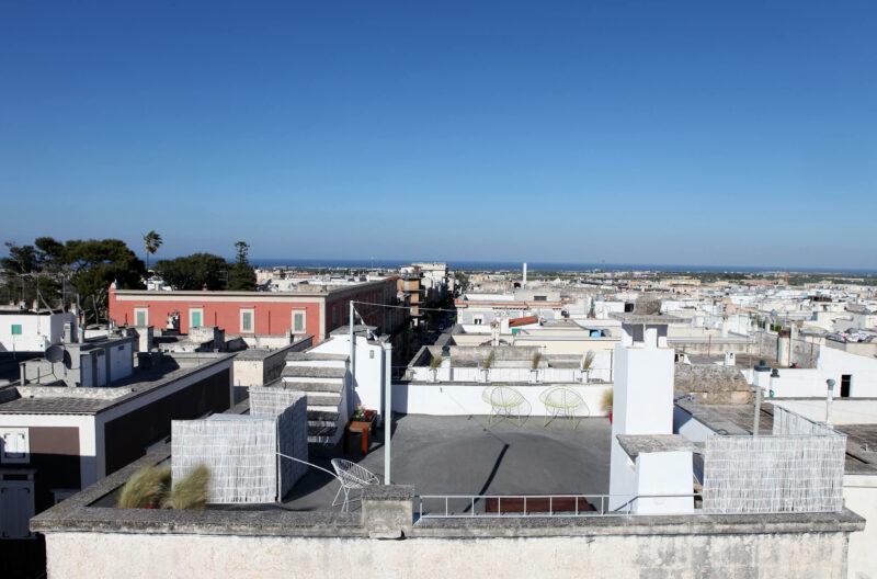 Hotel Italien Fasano Apulien Dachterrasse