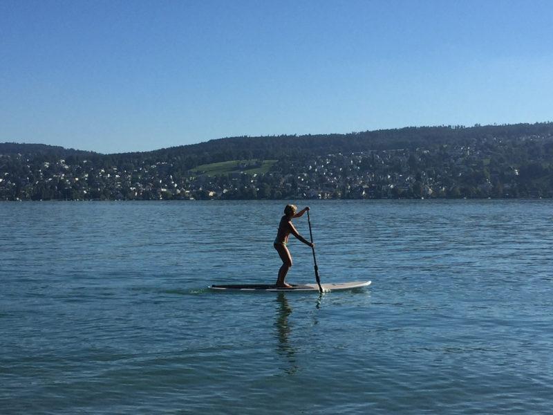 Zürichsee SUP Paddle