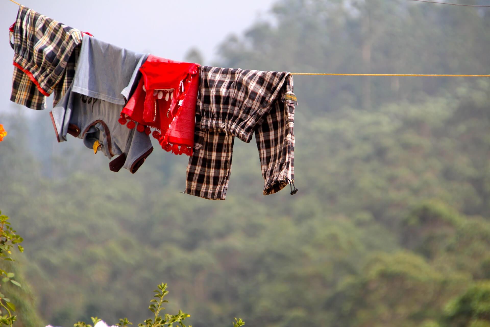 waesche waschen reisen backpacker wandern