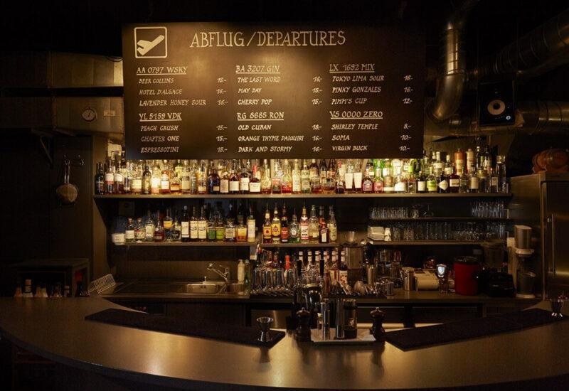 Abflug Bar Bern Cocktails Altstadt