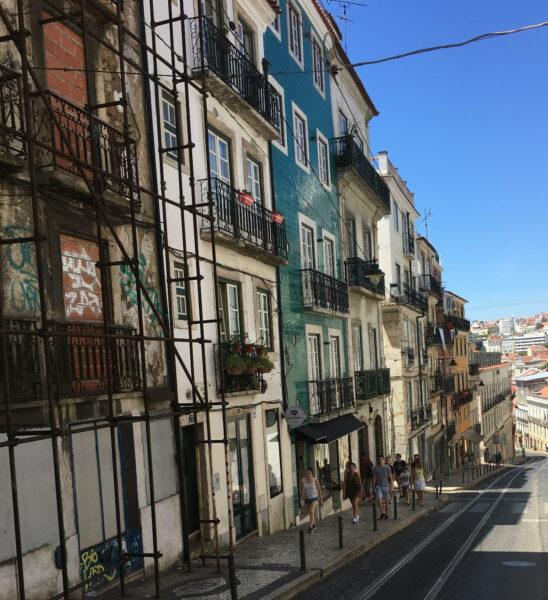 Strassenbahn Lissabon 28