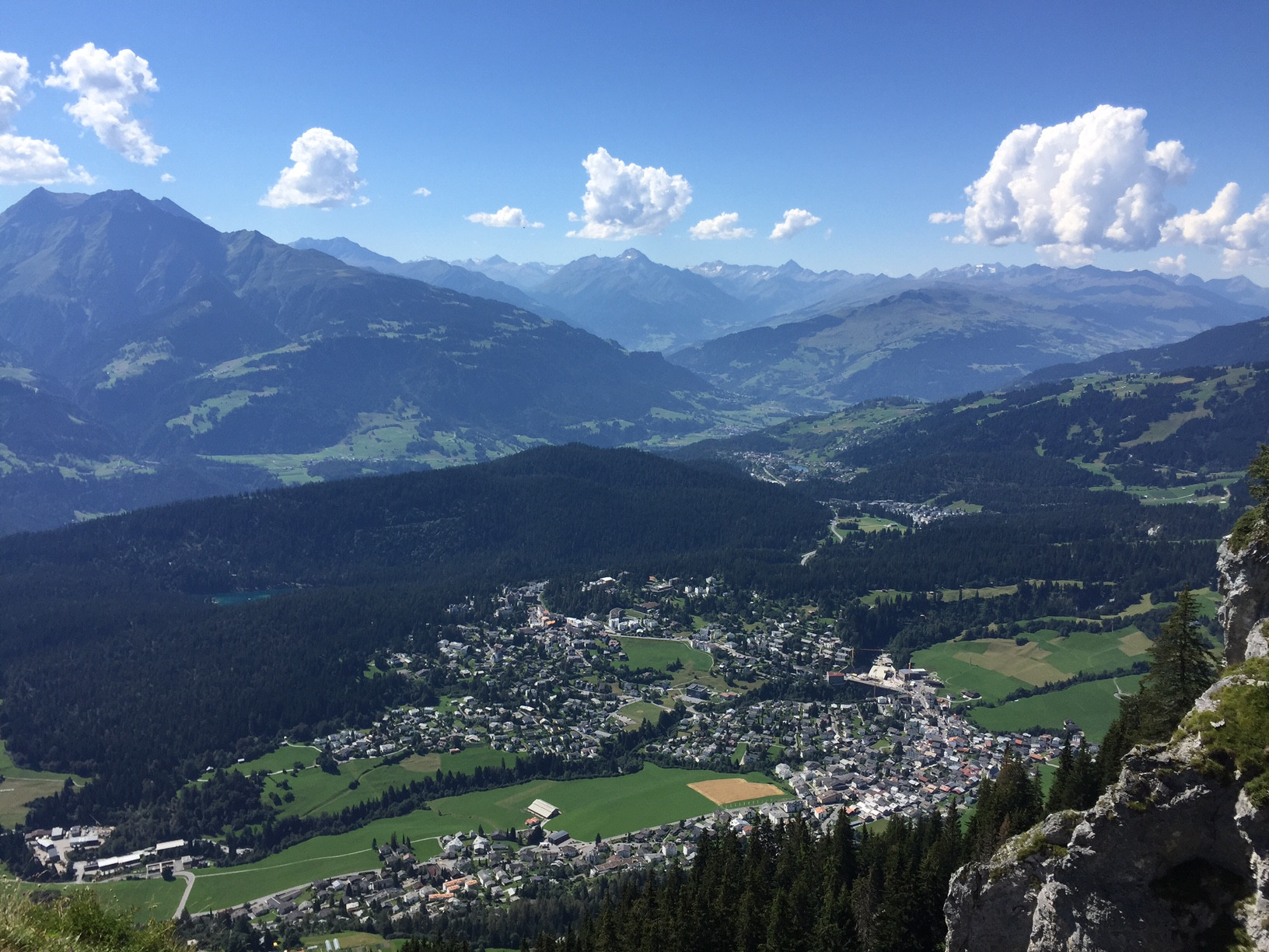 Klettersteig Flims : Klettersteig flims aussicht travelistas die reise insider