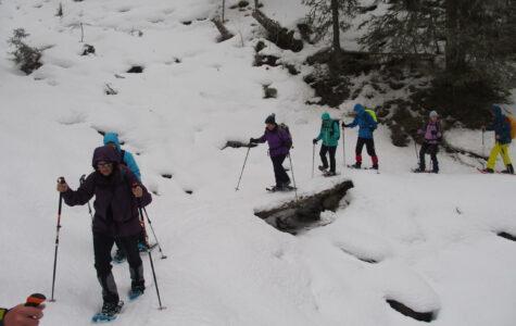 Schneeschuhwandern im Bündner Oberland