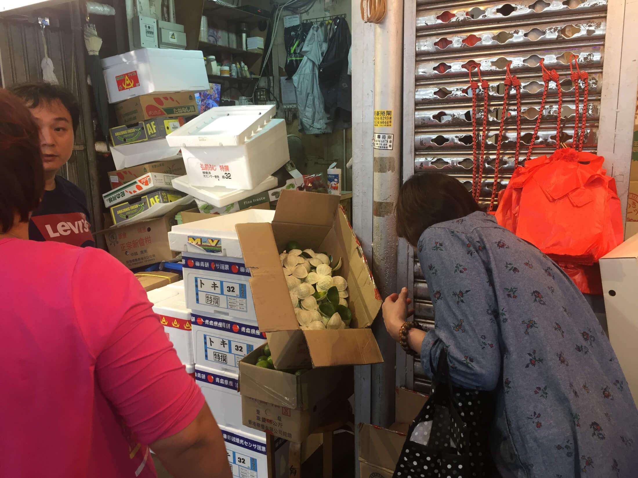 hongkong markt china