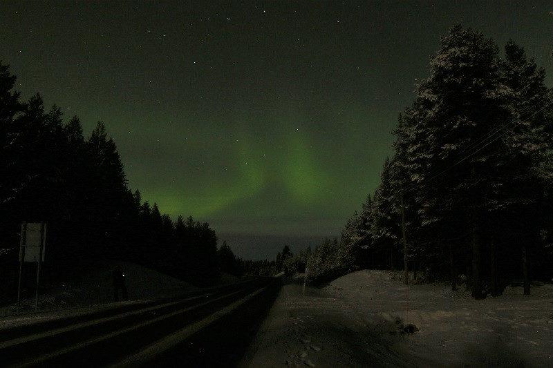 Nordlicht Lappland Finnland Polarlichter