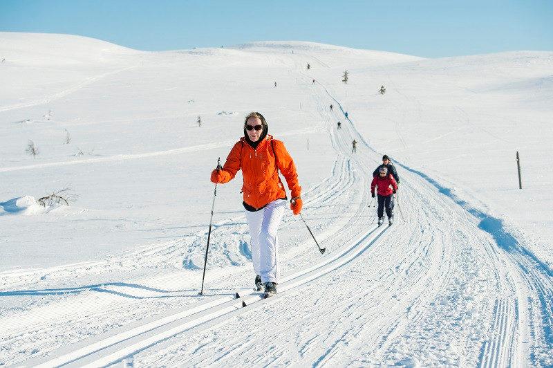Langlauf Finnland