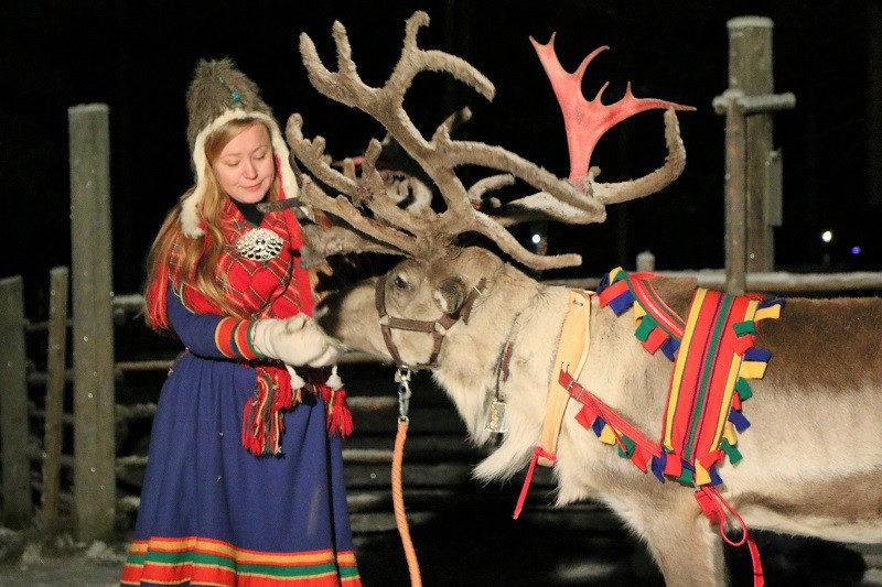 Lappland Tradition Rentier Samen