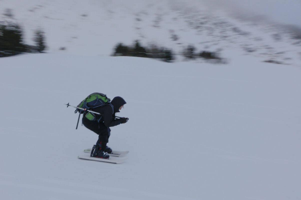 crossblades-winter wintersport natur sonne