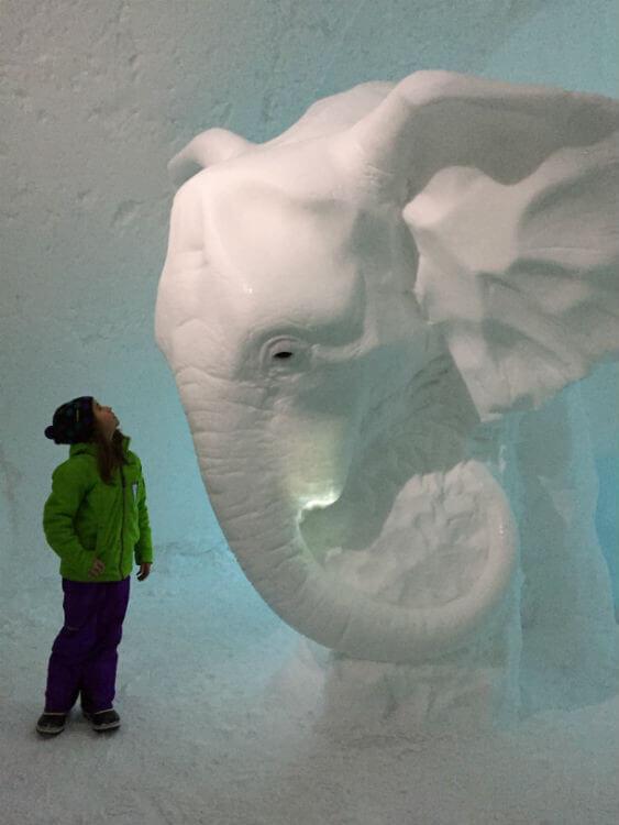 lappland schweden icehotel eishotel winter schnee kiruna
