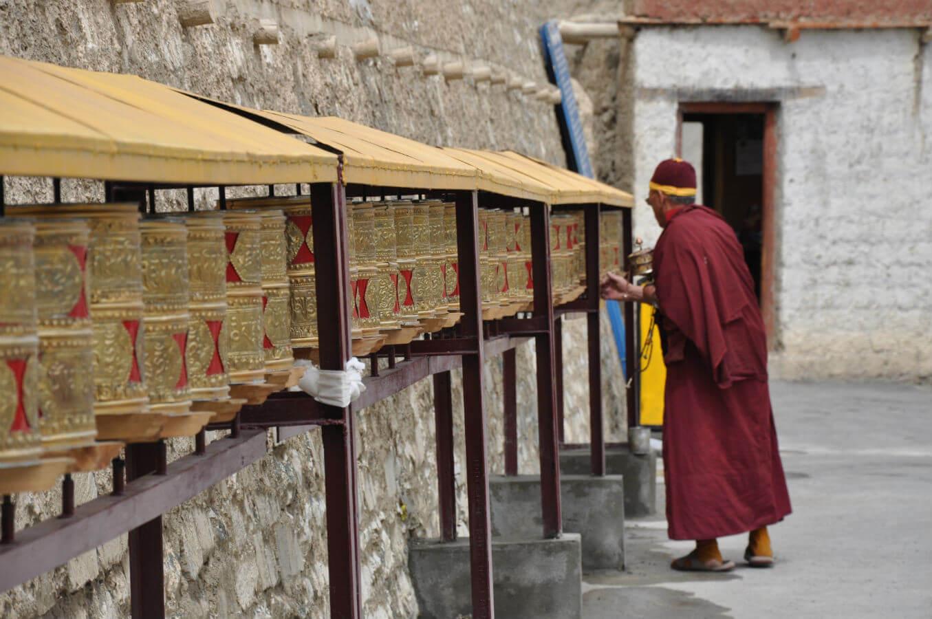 kloster lamayuru tibet indien