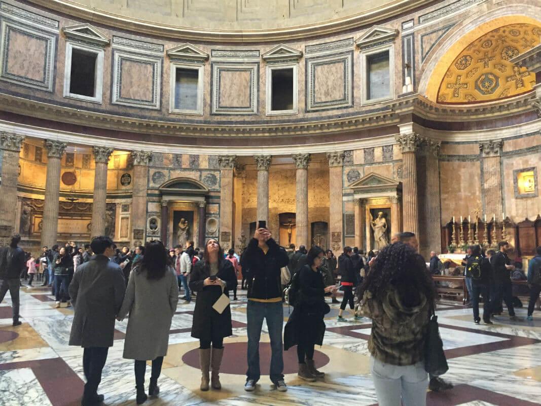rom pantheon italien reisen