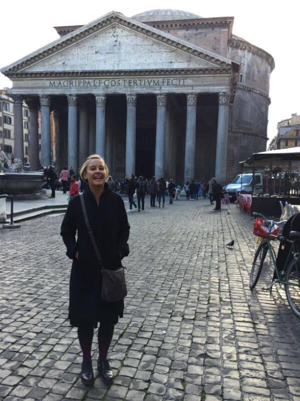 rom pantheon reisen italien