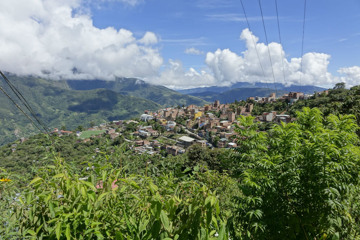 staffelbach coroico bolivien südamerika wandern