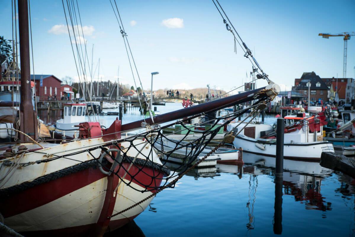 Fischkutter im Eckernförder Hafen_Copyright Johanna Pohl