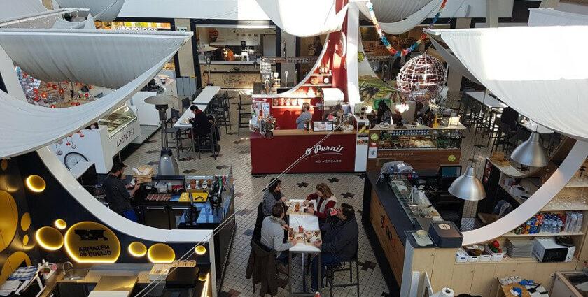 Foodtip für Porto: Der Mercado Bom Sucesso