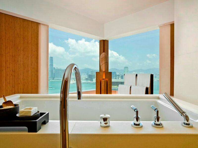 Upper House Hong Kong Suite Bath