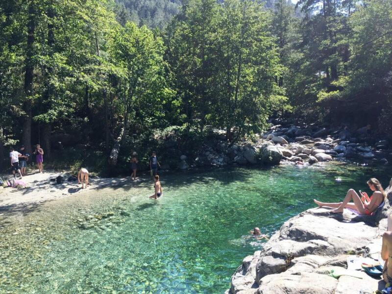 Wanderung Korsika Restonica Pool Wandertipp