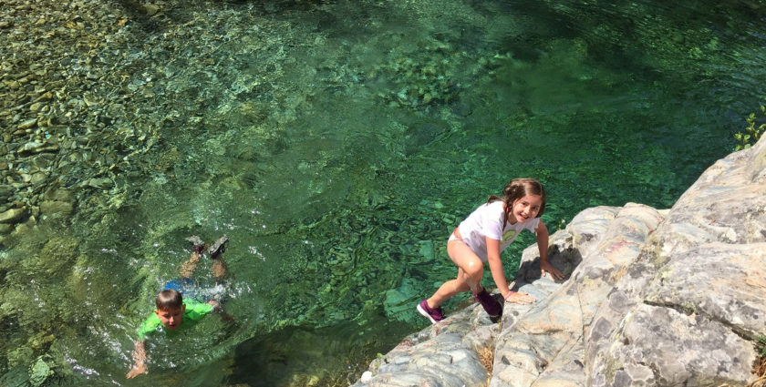 Kraxel- und Wandertipp für Korsika: Ab in den Bach