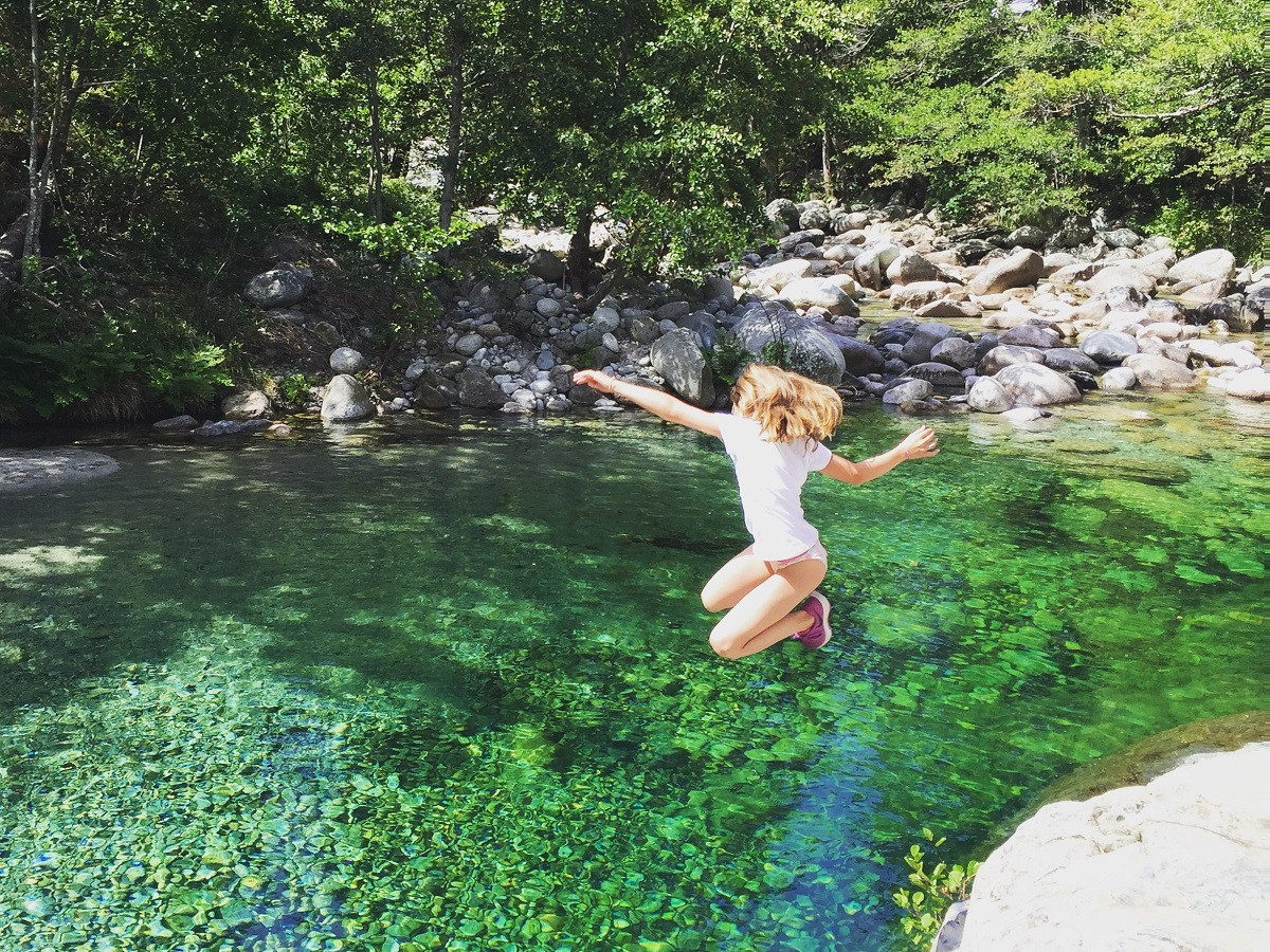 Restonica Pool Korsika