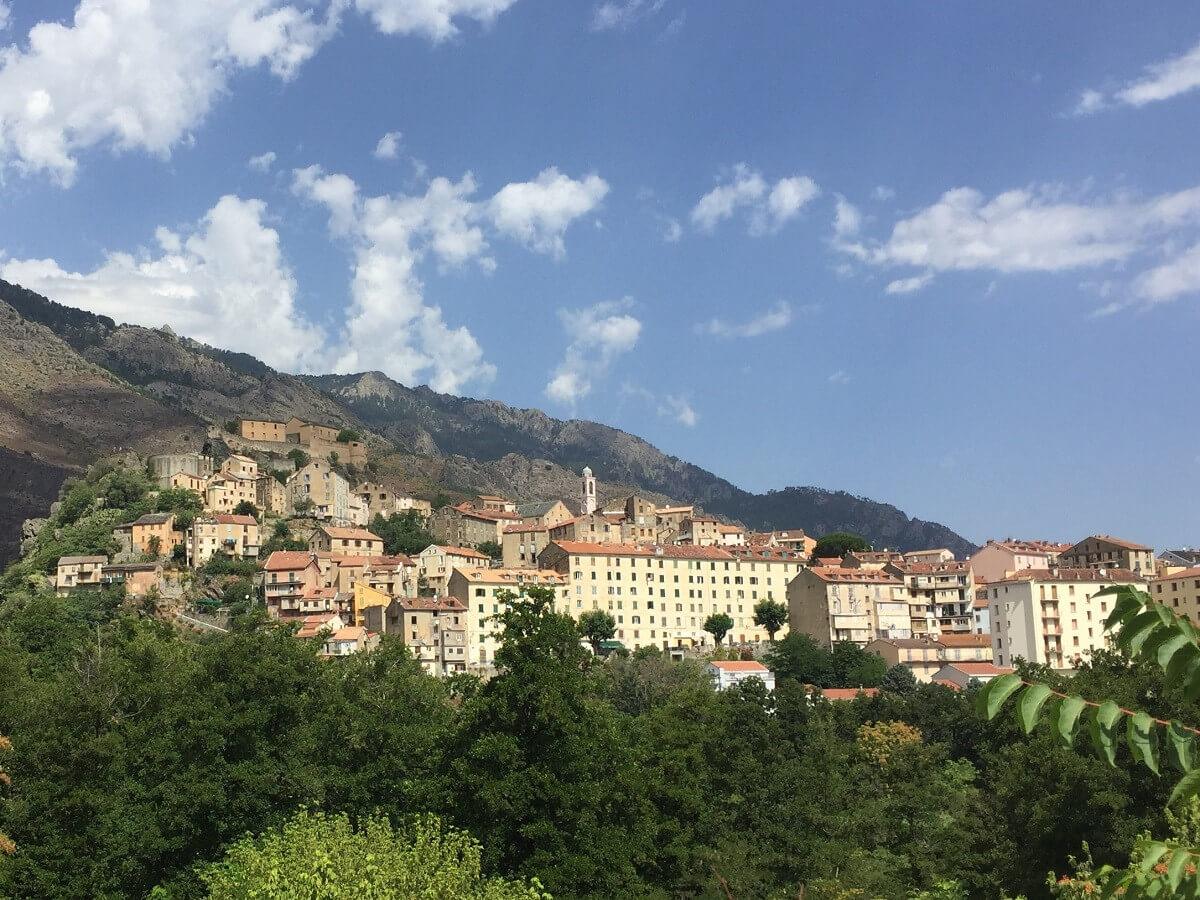 Corte Korsika