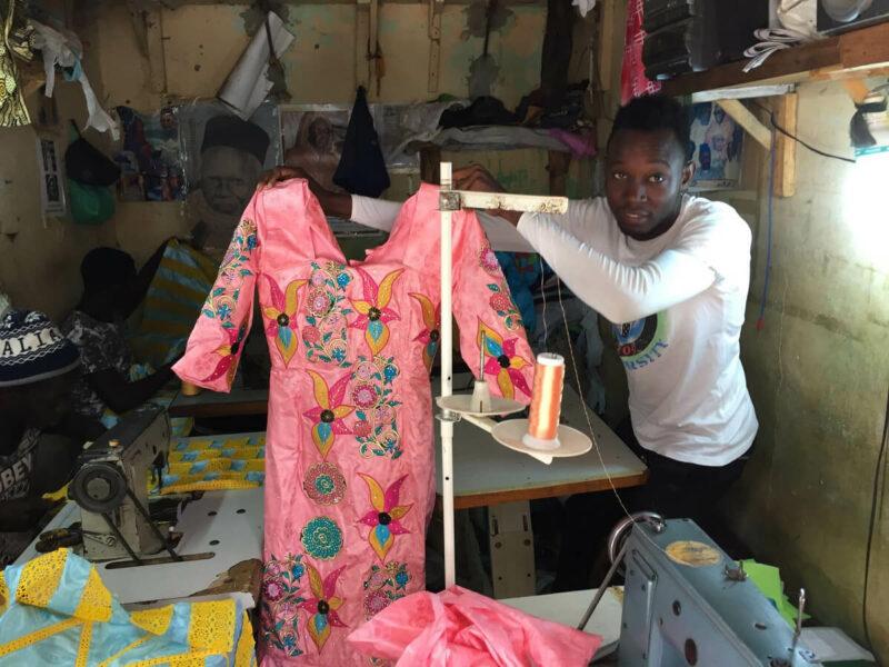 Senegal Frauen Kleider Schneider