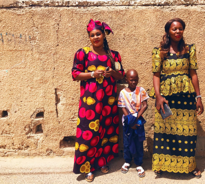 Senegal Frauen Kleider
