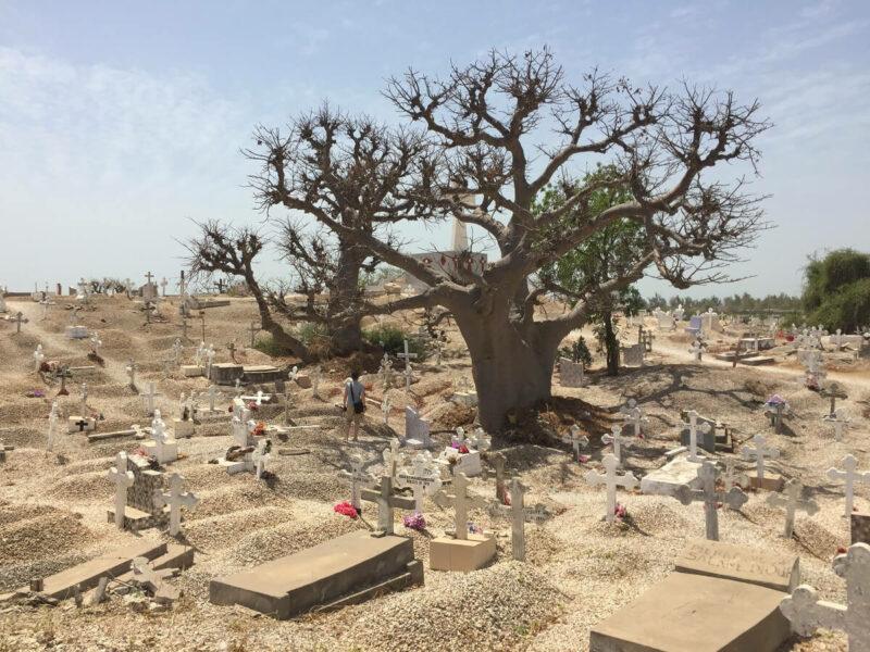 Joal Fadiouth Muscheln Friedhof