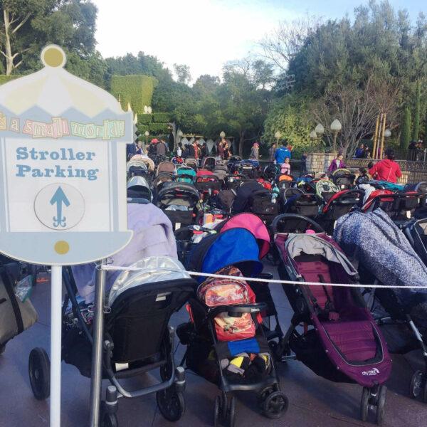 Disney Land_Stroller Parking