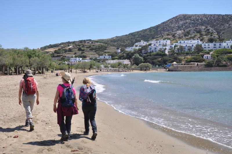 Galissas Syros Wanderung