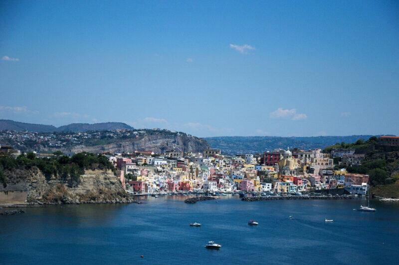 Insel Procida Italien