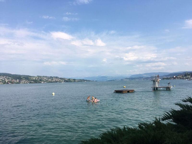Rüschlikon Badi Zürichsee