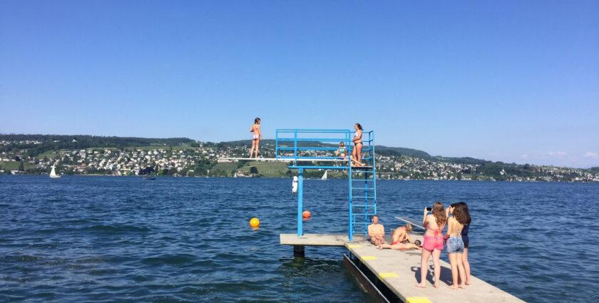 Noras Badi-Check am linken Zürichsee-Ufer