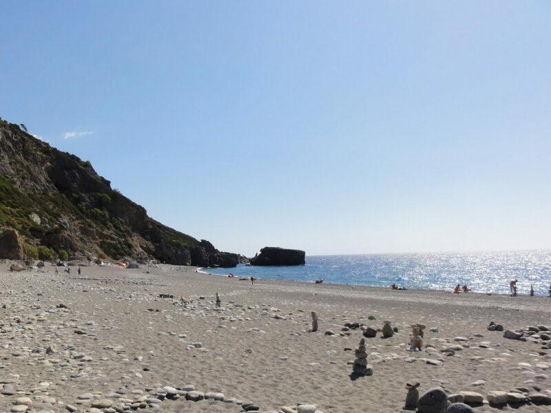 Kreta Sougia Strand Wanderung