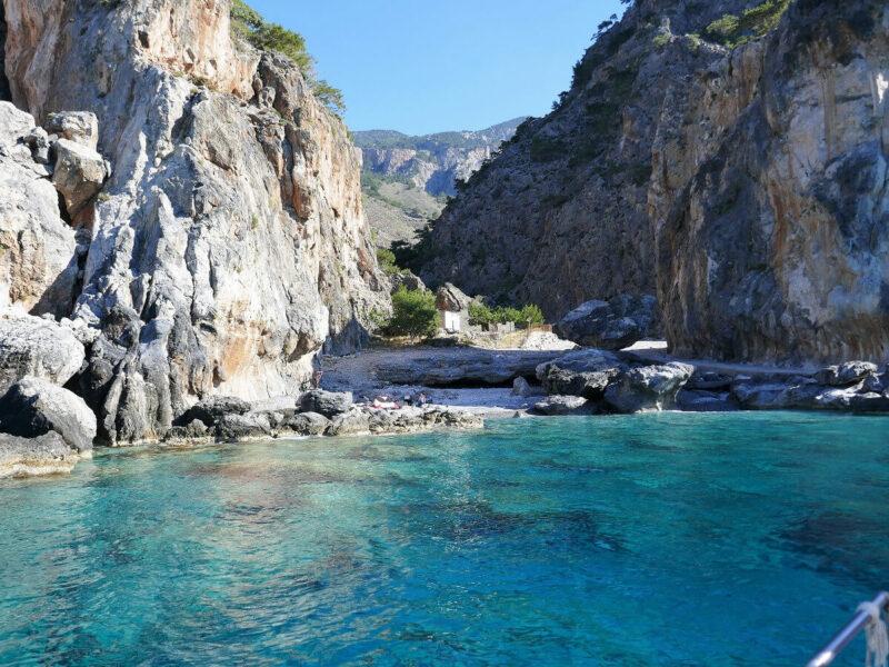 Tripiti Kreta Wanderung Bucht